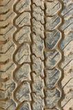 Car tire tread Royalty Free Stock Photos