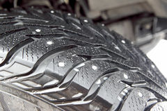 Car tire Royalty Free Stock Image