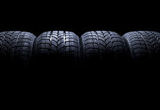 Car Tires Royalty Free Stock Photos