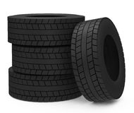 The car tires Stock Image