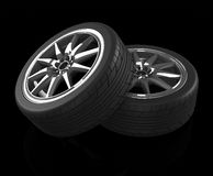 The car tires Stock Photo