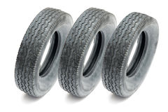 Car tires. Over white background royalty free stock photos