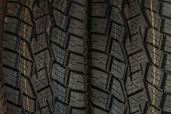 Car tires background Stock Photos