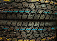 Car tires background Royalty Free Stock Image