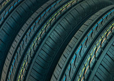 Car tires background Royalty Free Stock Photo