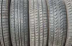 Car tires background. Stock Photography