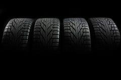 Car tires close-up Stock Photography