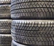 Car tires closeup Stock Photos