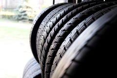 Car tires Stock Photography