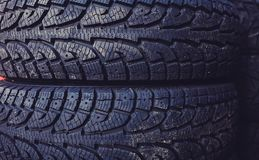 Car tires. For the road royalty free stock photos