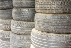 Car tires, Rubber tire, spare wheel Royalty Free Stock Image