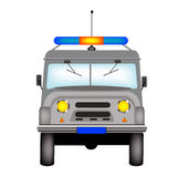 Car to police bodies Royalty Free Stock Image