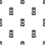 Car top, vector seamless pattern Stock Image