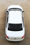Car top view Stock Photo