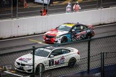 Car, Touring Car Racing, Auto Racing, Race Track stock photo