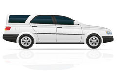 Car touring vector illustration Stock Photos