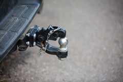 Car tow hitch close up Stock Photo