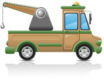 Car tow vector illustration Royalty Free Stock Photo