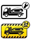 Car towing Stock Image