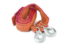 Car towing rope Stock Photography