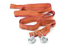 Car towing rope Stock Images