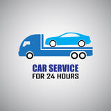Car towing truck Royalty Free Stock Photos