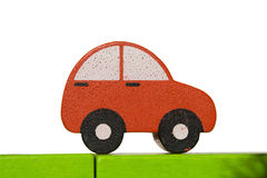Car Toy 1. A car toy isolated in white background Stock Image