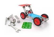 Car toy mechanical construction. Stock Photos