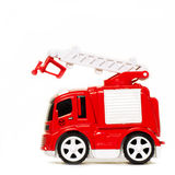 Car toy red fire truck Stock Images