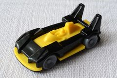 Car toy. Small toy car on a white background stock photo