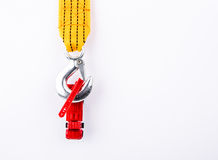 Car toy with towing rope Royalty Free Stock Image