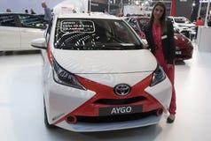 Car TOYOTA AYGO Stock Image