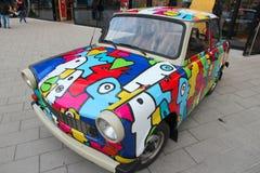 car trabant Στοκ Φωτογραφίες