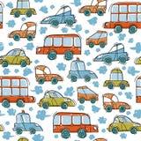 Car_traffic壅塞 免版税库存照片