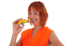 Car and traffic Royalty Free Stock Photography