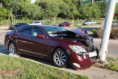 Car Traffic Accident Stock Photo