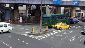 Car traffic in Tokyo, Japan stock footage