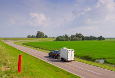 Car-trailer Royalty Free Stock Photography