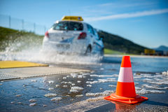 Car training school Stock Image