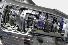 Car transmission Royalty Free Stock Photo