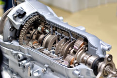 Car transmission. Stock Image