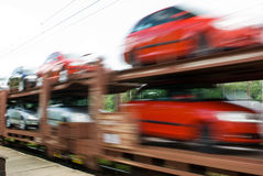 Car transport royalty free stock photos