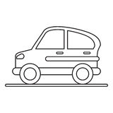 Car transport industry contamination icon pictograph. Vector illustration eps 10 Royalty Free Stock Photos