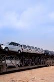 Car transportation Royalty Free Stock Photography