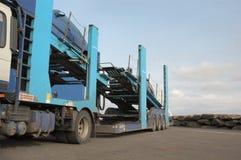 Car Transporter stock image