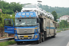 Free Car Transporter Stock Image - 21800181