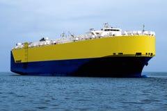 Car Transporter A1. Car Transporter underway at sea Stock Photos