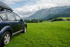 Car for traveling Royalty Free Stock Images