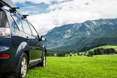 Car for traveling Stock Images