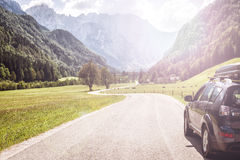 Car for traveling Stock Photography